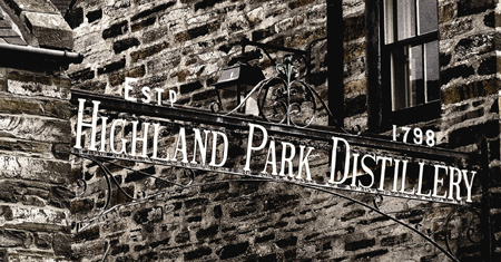 Highland Park Distillery Gate