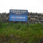 Kilchoman distillery sign