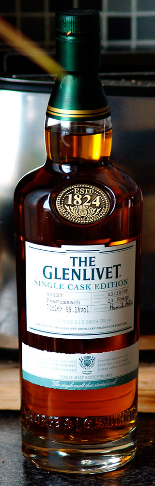 Glenlivet Faemussach Bottle