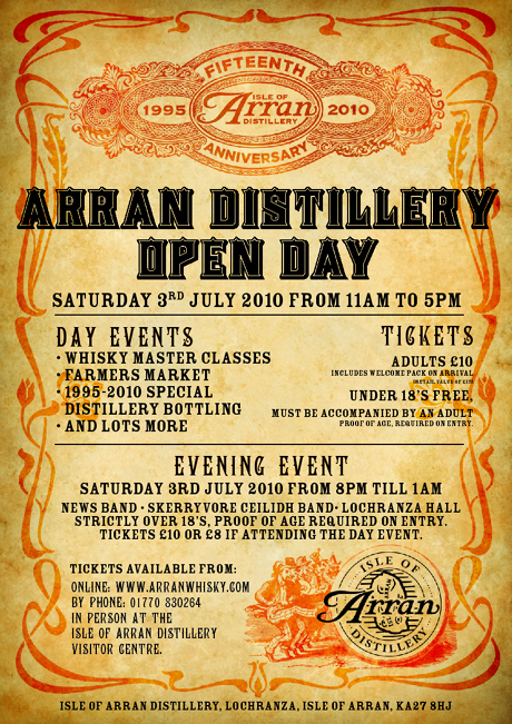 Arran Distillery Open Day