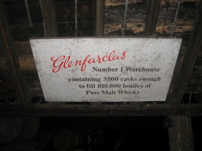glenfarclas-warehouse-sign