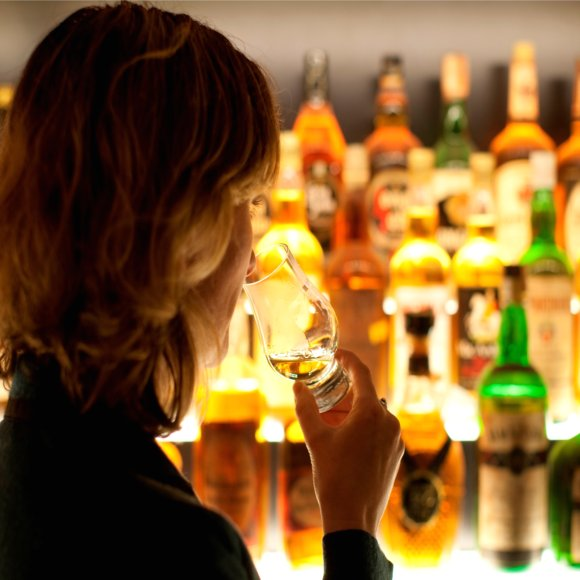 The World&#039;s Largest  Collection of Scotch Whisky, at the Scotch Whisky Experience (1)