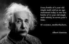 Albert Einstein's theory of no-age-statement