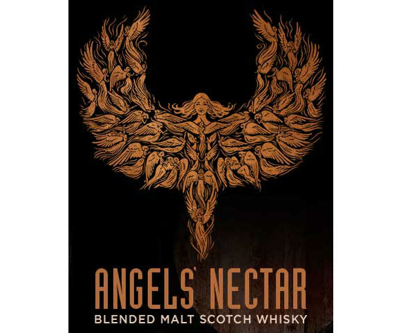 Angels' Nectar Blended Malt Label