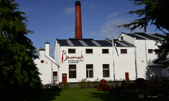 Benromach Distillery header